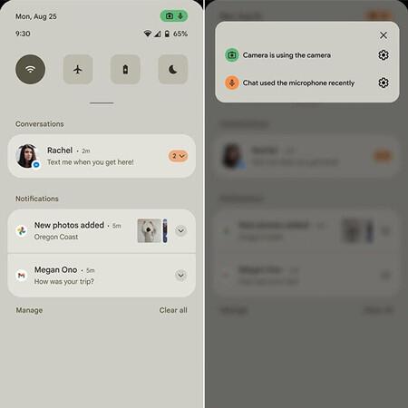 Cambios en los ajustes rápidos de Android 12