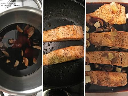 Salmon Glaseado Con Soya 1