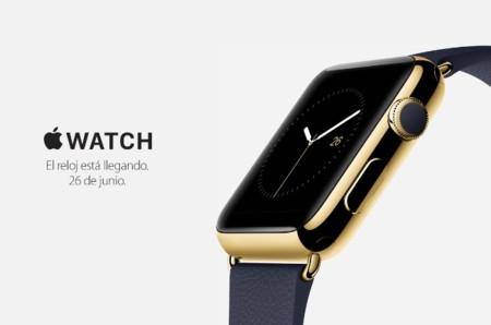 Ya es oficial: El Apple Watch llega el día 26 de junio a España