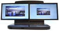 """gScreen SpaceBook, dos pantallas de 17.3 pulgadas en una """"laptop"""""""