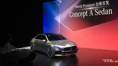 Un vistazo al concept Mercedes Clase A Sedán, un eslabón más en la cadena para ganar clientes jóvenes