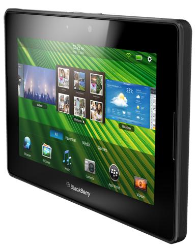 RIM presenta su BlackBerry PlayBook con conectividad LTE