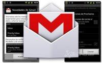 Gmail para Android se actualiza con sincronización de correos prioritarios y tonos por etiquetas