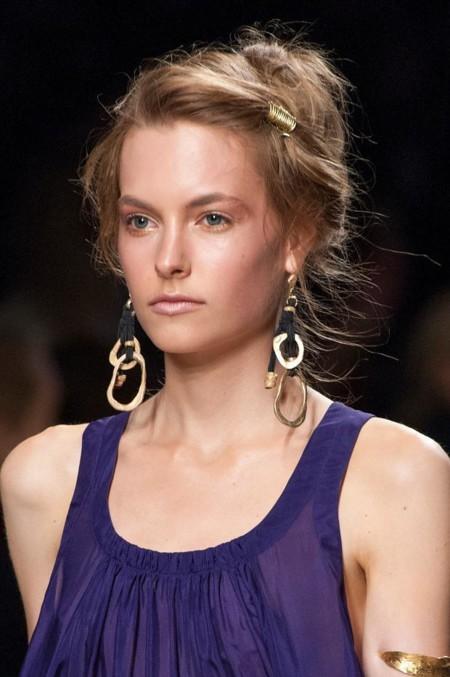 La Semana de la Moda de Milán apuesta por los accesorios para el cabello