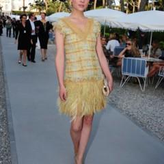 Foto 21 de 23 de la galería las-bellezas-fieles-de-chanel-en-el-front-row-de-la-coleccion-crucero-2012 en Trendencias
