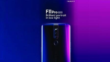 El OPPO F11 Pro apunta a más de 80 MP entre las cámaras traseras y la frontal