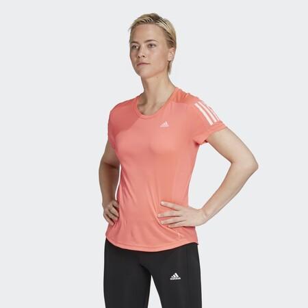 Camiseta Own The Run Rosa Ft2404 21 Model