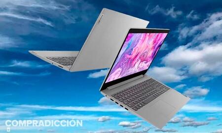 Con una configuración por encima de la media, el Lenovo IdeaPad 3 15ALC6 es el portátil perfecto para el próximo curso y sólo cuesta 549,99 euros en Amazon