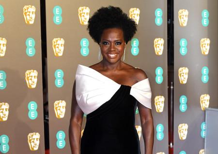 Premios BAFTA 2019: El blanco y negro se ha convertido en la combinación más elegante según Viola Davis