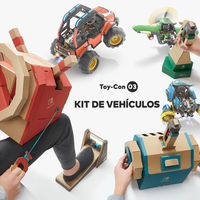 Así se juega al Kit Vehículo de Nintendo Labo en este completo gameplay de siete minutos