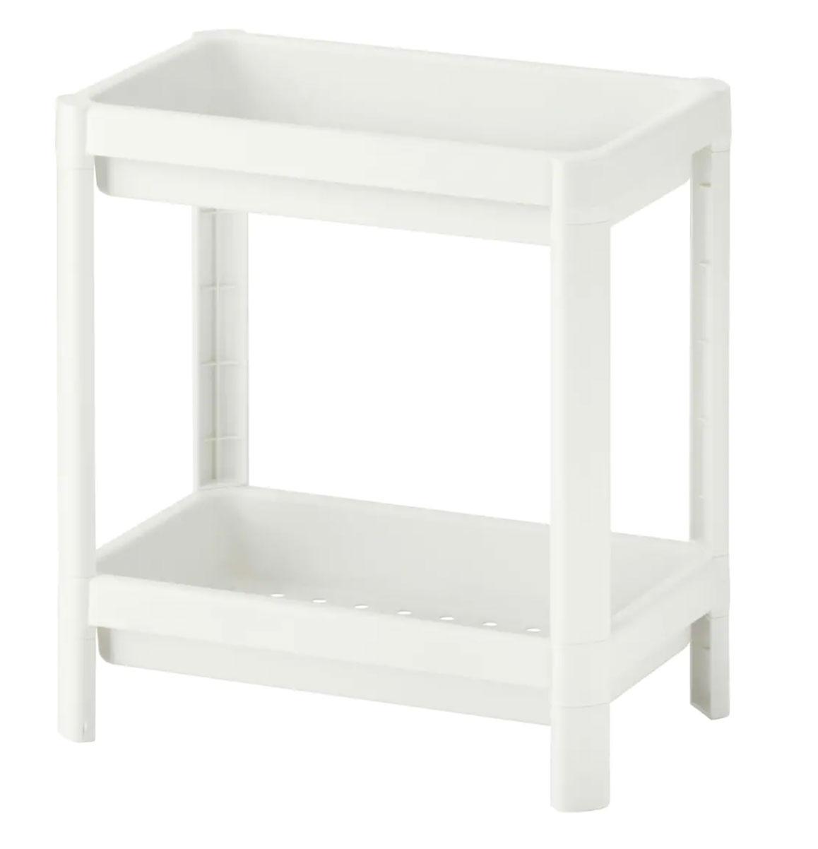 VESKEN Estantería, blanco, 36x23x40 cm