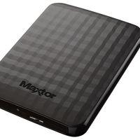 Disco duro portátil Maxtor, con 4TB de capacidad, por 116 euros y envío gratis