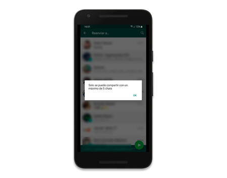 Whatsapp Cinco Contactos 2