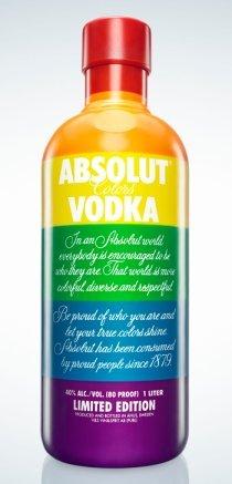 Absolut vodka se une al cumpleaños de la bandera del Orgullo Gay