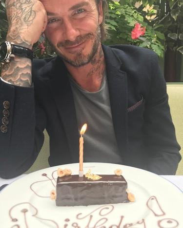 Y con las felicitaciones de cumpleaños de David Beckham (también) morimos de amor