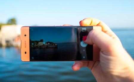 Sony Xperia XA app cámara