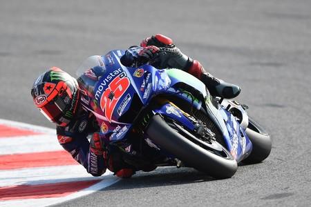 Maverick Viñales borda el sábado en Aragón con las Honda sufriendo y ¡Rossi en primera línea!