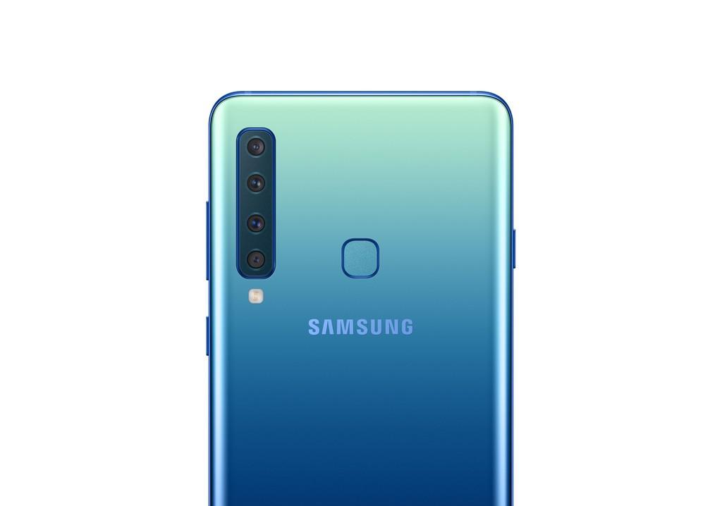 Samsung Galaxy A9, oficialmente han llegado las cuatro cámaras traseras en un teléfono