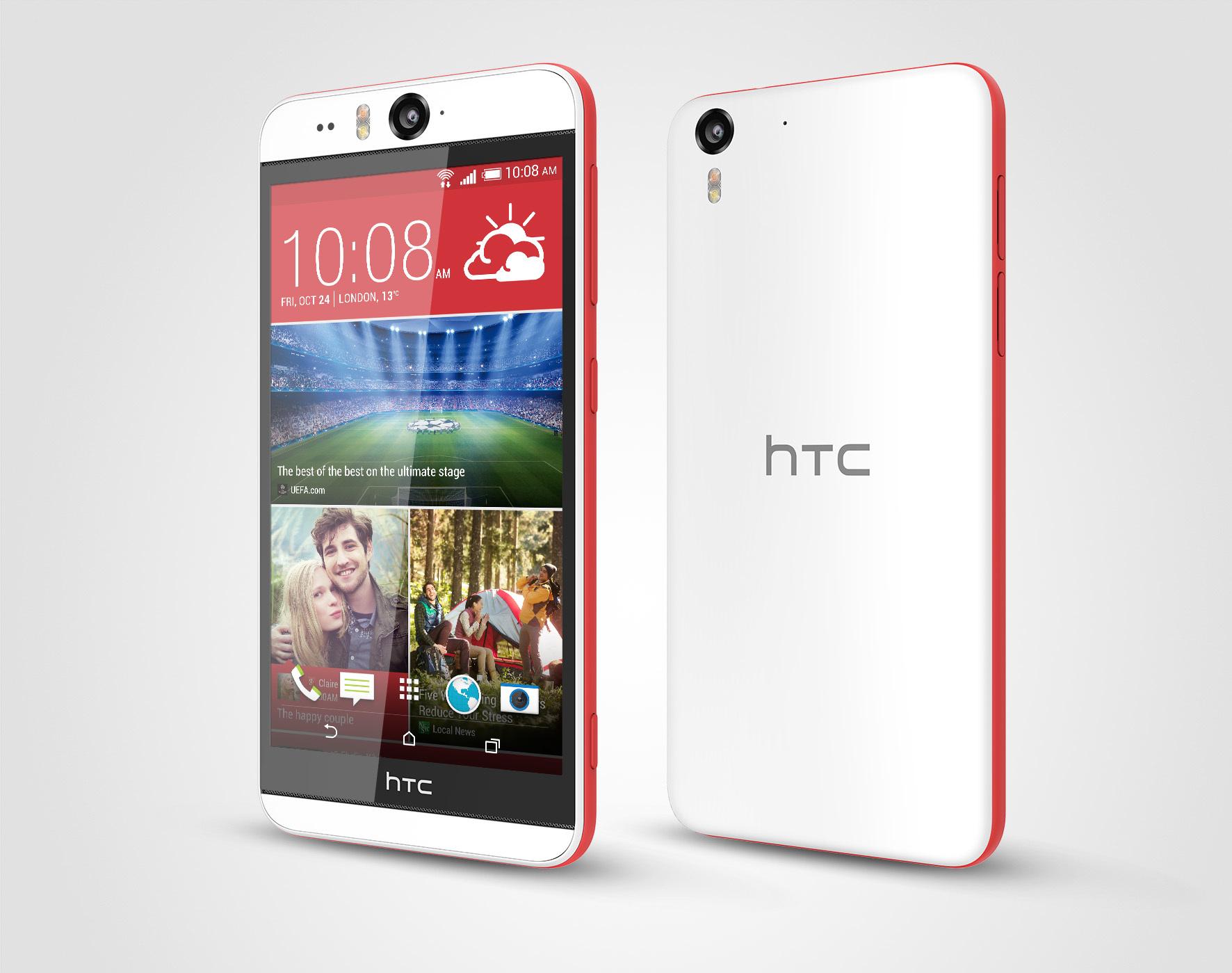Foto de HTC Desire Eye, diseño (3/6)