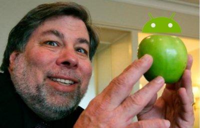 Steve Wozniak y sus declaraciones sobre iOS y Android