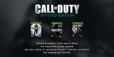 Anunciado Call of Duty: Revived Edition para Xbox One