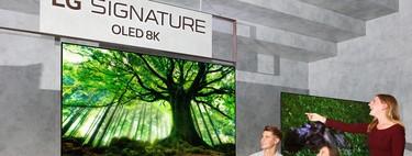LG se pasa al 8K: sus nuevas teles OLED y LCD-LED NanoCell de gran formato comenzarán a venderse este mes