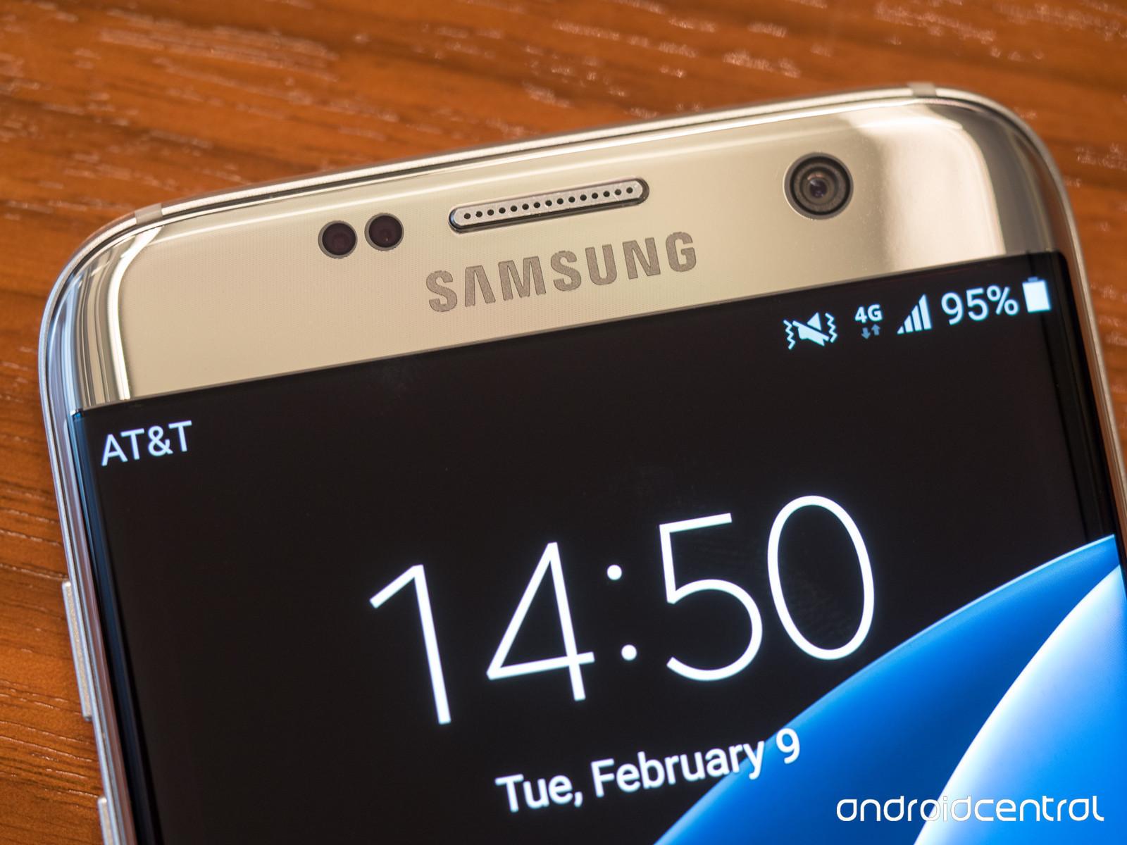 Samsung Galaxy S7, dorado