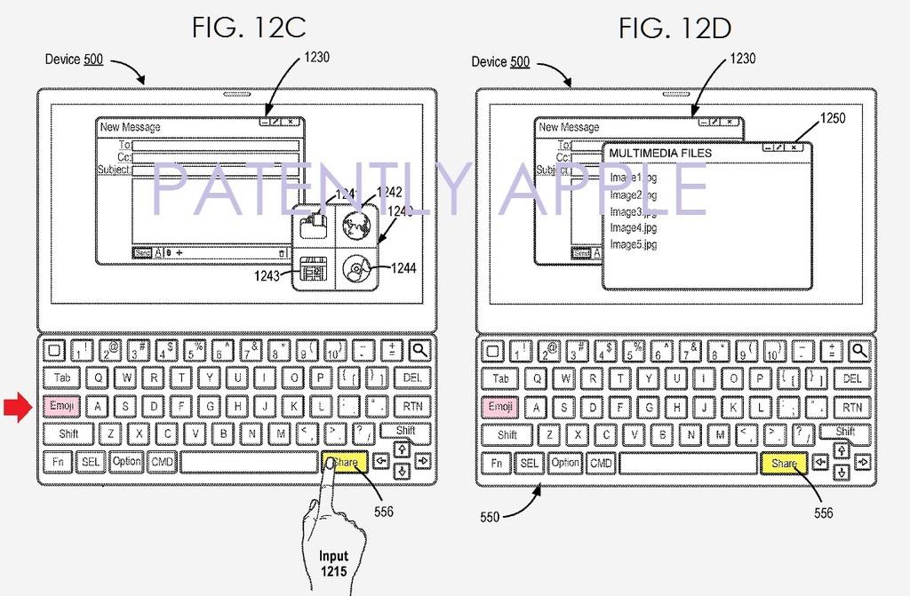 Patente Smart Keyboard 2 Teclas