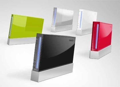 Consolas Wii de colores