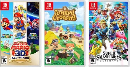 Juegos para Nintendo Switch en descuento en México