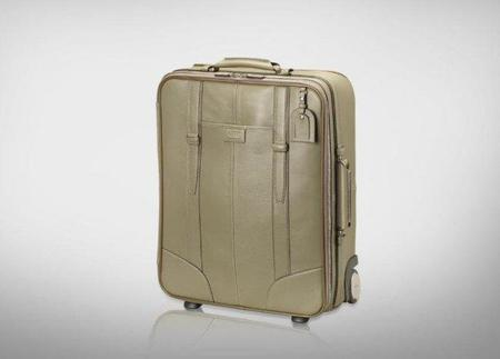 Salir de viaje con Lancel, maleta Grand Hôtel para cabina en color mastic
