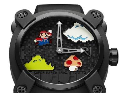 Mírame pero no me toques: el reloj para fans acérrimos de Mario cuesta 19.000 dólares