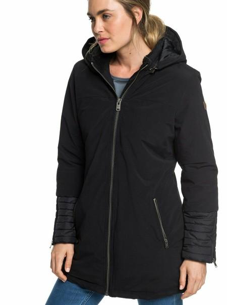 Este abrigo Roxy es un básico en tu fondo de armario y lo tienes por 67,50 euros en eBay