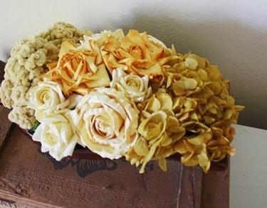 Secando flores, del jardín al centro de mesa