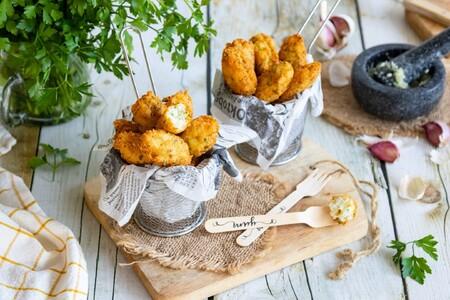 El ingrediente que hará irresistibles a tus buñuelos de bacalao y patata