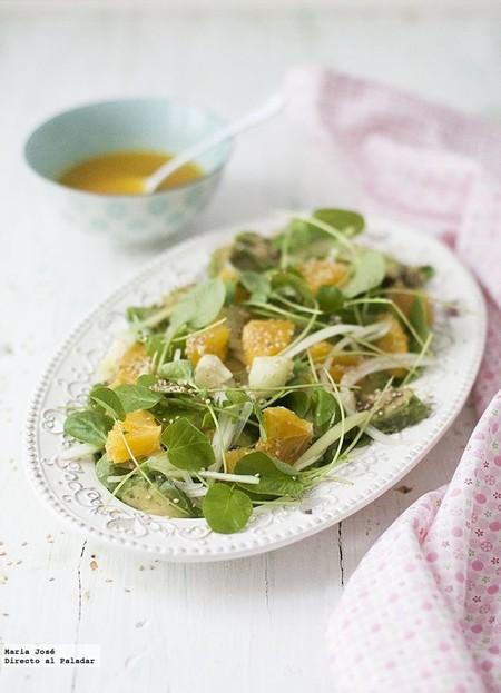 11 fantásticas y ligeras ensaladas para aligerar el comienzo de semana