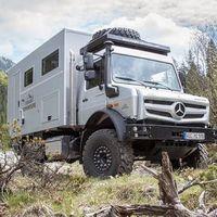 Mercedes Unimog Ziegler Moghome, lleva la comodidad de tu casa a todas partes