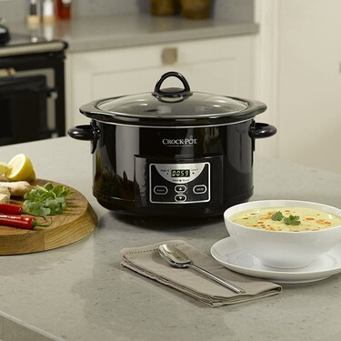 La olla de cocción lenta más completa de Crock Pot está rebajada en Amazon hoy: por 49 euros y envío gratis