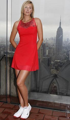 Maria Sharapova y su nuevo vestido Nike