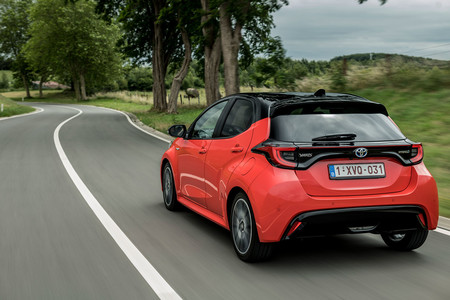 Toyota Yaris 2020, prueba