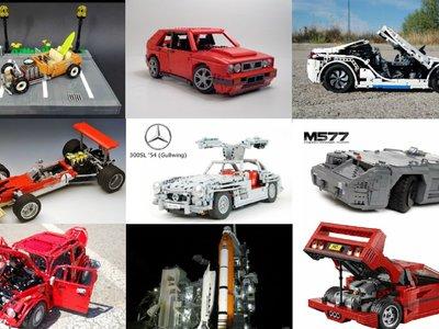 Hay verdaderos prodigios de coches hechos con Lego, y la prueba es esta