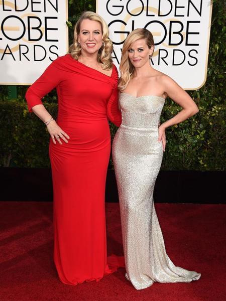 Globos De Oro 2015 Reese Witherspoon Calvin Klein
