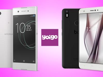 bq Aquaris X y Sony Xperia XA1, novedades en mayo con Yoigo y todos sus precios