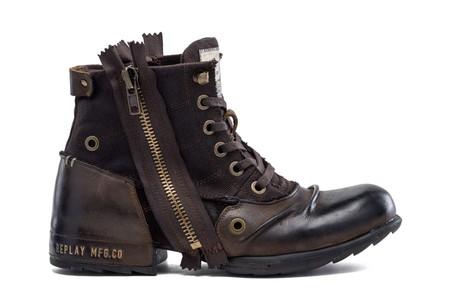 REPLAY tiene las mejores botas militares de la temporada para llevar a lo largo del otoño