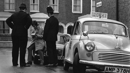 Police Officers Administer Breathalyser