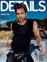 Chris Pine, todo un detalle de portada