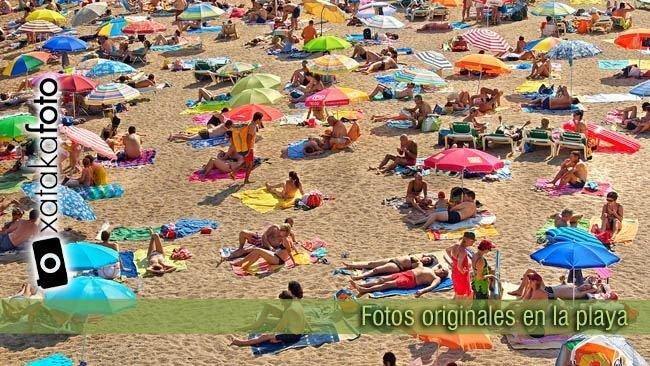 fotos originales en la playa XF