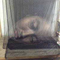 No son fantasmas, son fascinantes obras de arte 3D sobre tela