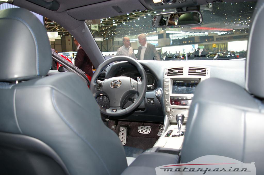 Foto de Lexus IS-F en el salón de Ginebra (9/10)
