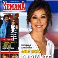 Ana Rosa Quintana y cómo cumplir los 60